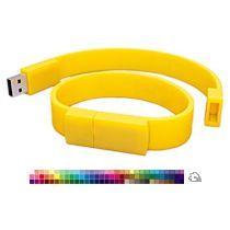 Силиконовый браслет-флешка на 16 Гб