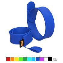 Силиконовый Slap браслет-флешка на 16 Гб
