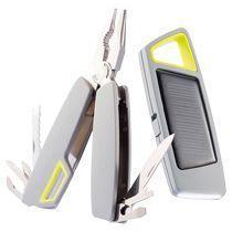Набор «Tovo»: мультитул и фонарик на солнечной батарее