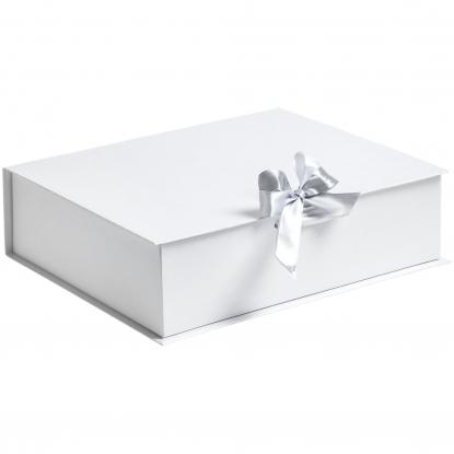 Коробка на лентах Tie Up под нанесение - материал картон (P-10600) - купить оптом | Адверти