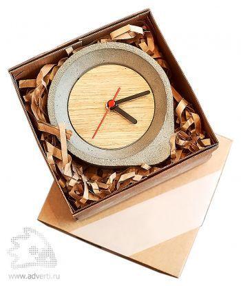 Часы из бетона, упаковка