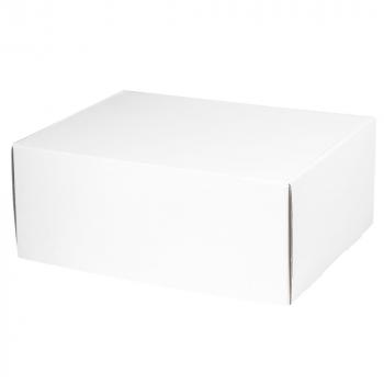 Подарочная коробка для набора универсальная, малая, белая, в закрытом виде