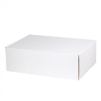 Подарочная коробка для набора универсальная, большая, белая, в закрытом виде