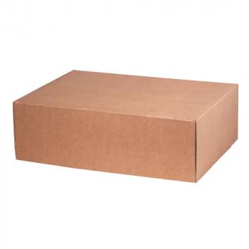 Подарочная коробка для набора универсальная, большая, крафт, в закрытом виде