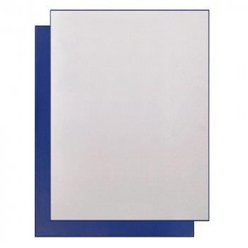 Подарочная коробка для набора c ложементом под произвольную вырубку, синяя