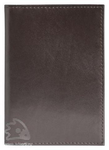 Обложка для авто-документов, Avanzo Daziaro, коричневая