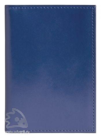 Обложка для авто-документов, Avanzo Daziaro, синяя