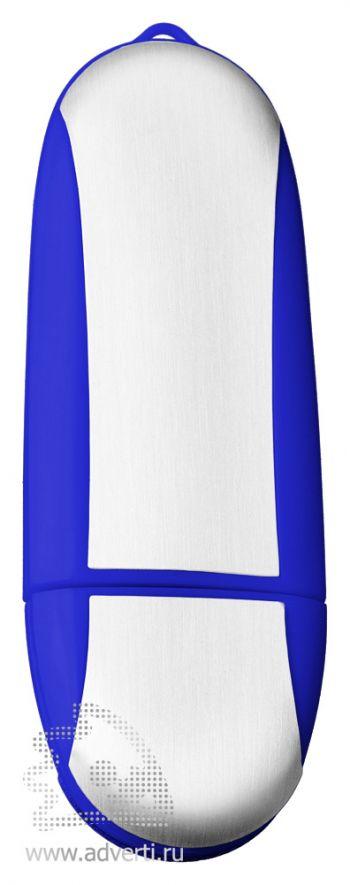 USB-флеш-карта «Ergonomic», синяя