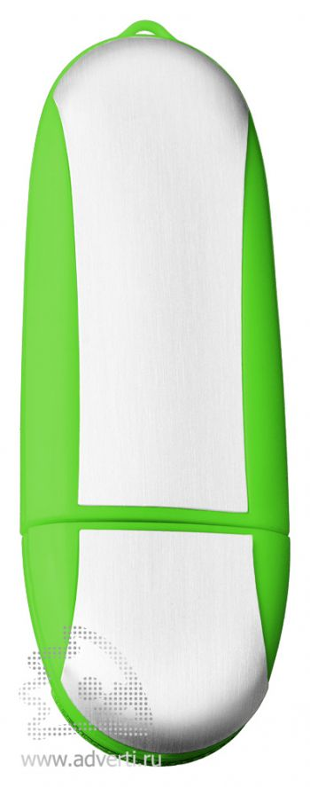 USB-флеш-карта «Ergonomic», зеленая