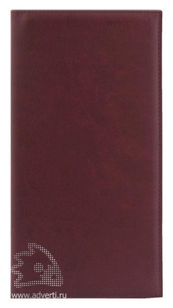 Визитницы «Velvet»,коричневые