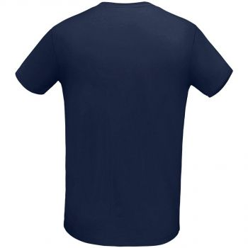 Футболка «Martin Men», мужская, тёмно-синяя, спина