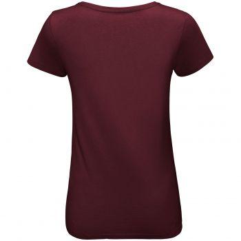 Футболка «Martin Women», женская, бордовая, спина