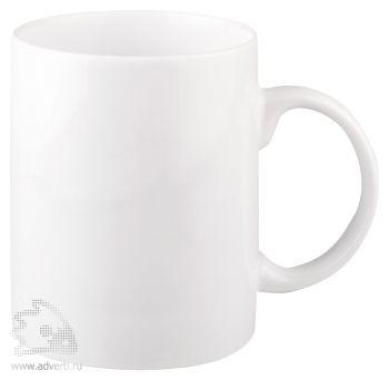 Кружка белая «Maxi Mug», общий вид