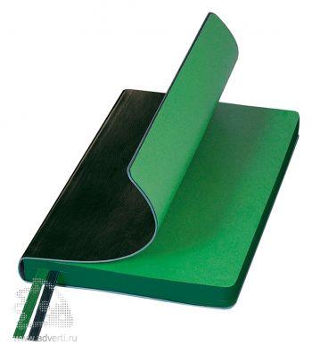 Ежедневник недатированный А5, Portobello Trend Voyage, темно-зеленый