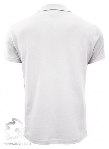 Рубашка поло «Stan Uniform», мужская, белая, спина