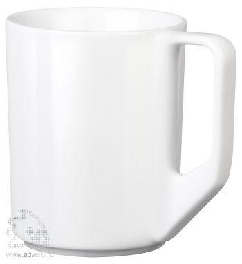 Кружка белая «Solid». общий вид