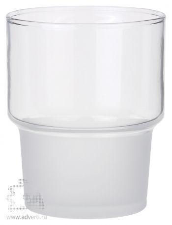 Стакан «Purity Glass» прозрачно-матовое стекло, без нанесения