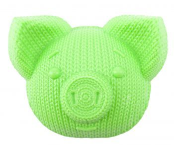 Мыло «Свинка вязаная», зелёное