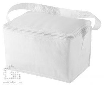 Сумка-холодильник на 6 банок, белая