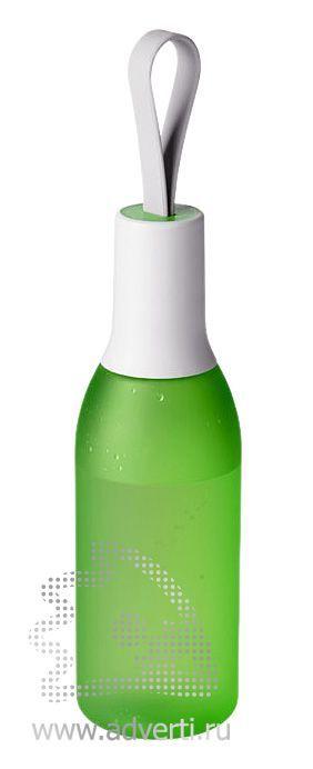 Бутылка «Flow», зеленая