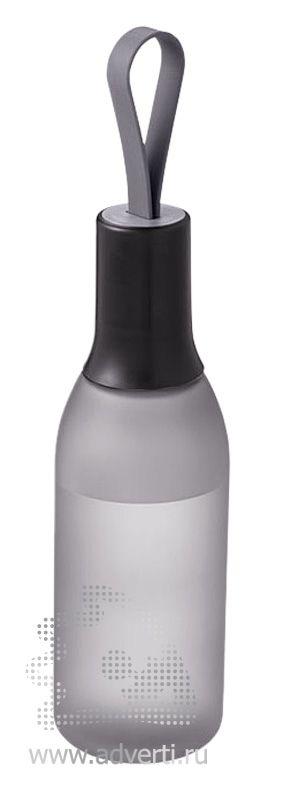 Бутылка «Flow», черная
