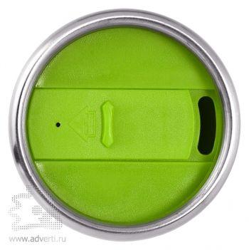 Термостакан «Elwood», зеленый, вид сверху