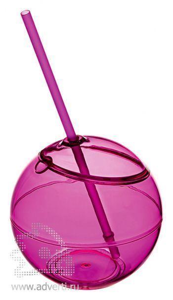 Емкость для питья «Fiesta», розовая