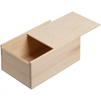 Деревянный ящик «Locker», малый, выдвижная крышка