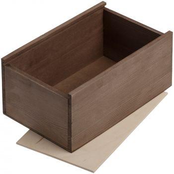 Деревянный ящик «Boxy», малый, в открытом виде
