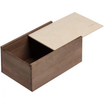 Деревянный ящик «Boxy», малый, выдвижная крышка