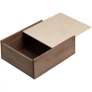 Деревянный ящик «Karlo», большой, выдвижная крышка