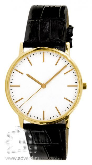 Часы наручные «Мадрид», мужские, золотой корпус