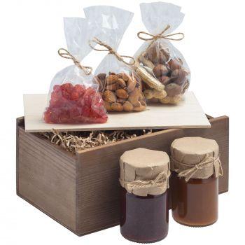 Деревянный ящик «Boxy», малый, пример использования