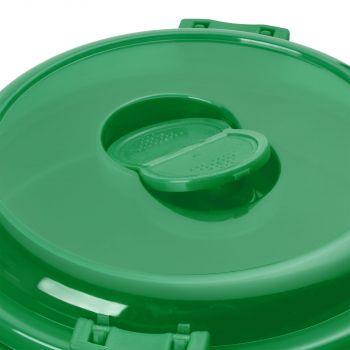 Ланчбокс «Barrel Roll», зелёный, крышка