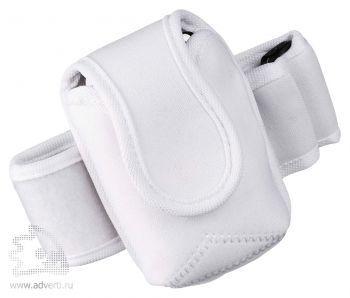 Чехол для электронных приборов с застежкой на плече, белый