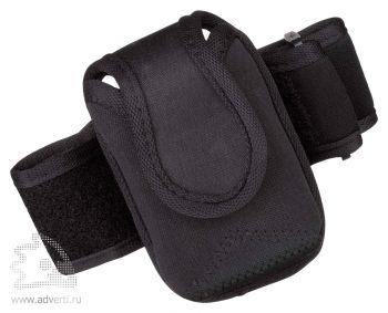 Чехол для электронных приборов с застежкой на плече, черный
