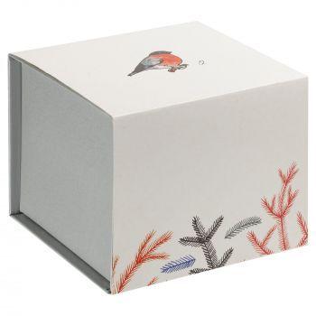 Фарфоровая елочная игрушка «Twitt», коробка в шуберте