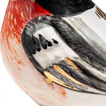 Фарфоровая елочная игрушка «Twitt», роспись вручную