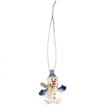 Фарфоровая елочная игрушка «Olaf», общий вид