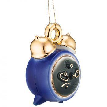 Фарфоровая елочная игрушка «Ding-Dong», вид сбоку