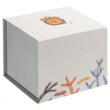 Фарфоровая елочная игрушка «Ding-Dong», коробка в шуберте
