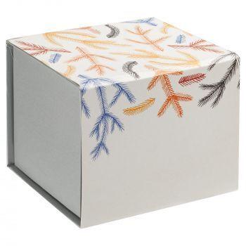 Фарфоровая елочная игрушка «Ding-Dong», коробка в шуберте, вид сзади