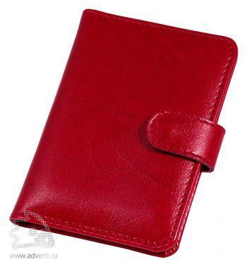Футляр для дисконтных карт «Birmingham», Avanzo Daziaro, красный