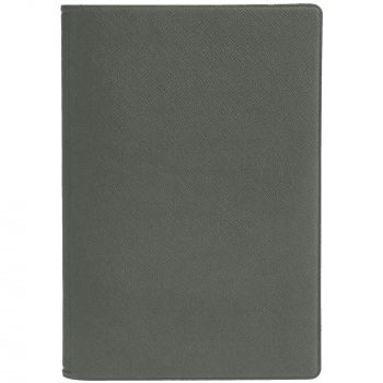 Обложка для паспорта «Devon», серая