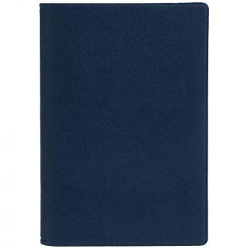 Обложка для паспорта «Devon», синяя