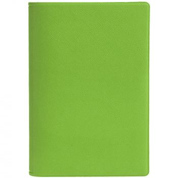 Обложка для паспорта «Devon», зелёная