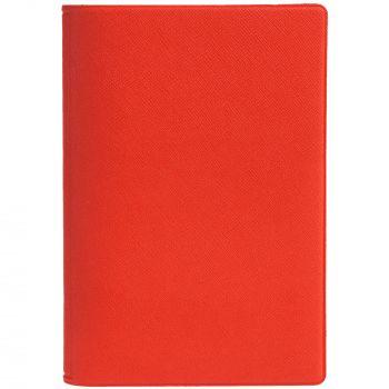 Обложка для автодокументов «Devon», красная