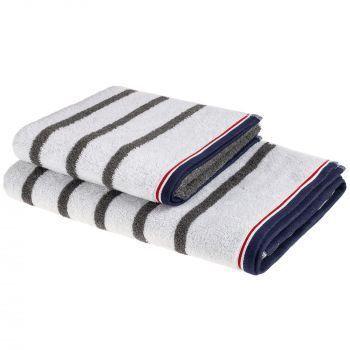 Полотенце Athleisure Strip, все размеры серии