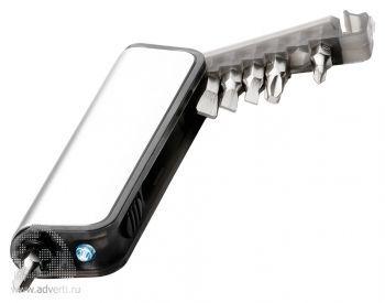 Мини-набор инструментов с фонариком