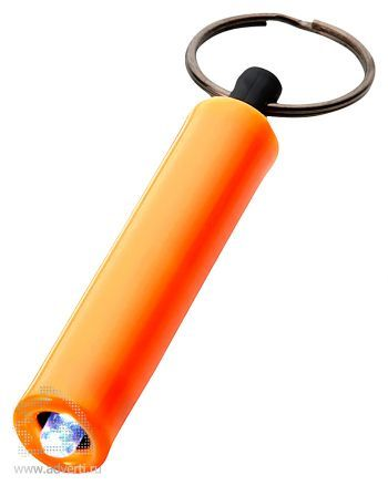 Брелок-фонарик «Retro», оранжевый
